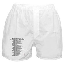 Comparative Religion Boxer Shorts