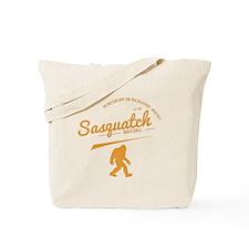 Orange Sasquatch Bar And Grill Tote Bag