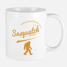 Orange Sasquatch Bar And Grill Mugs