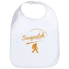 Orange Sasquatch Bar And Grill Bib