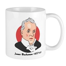 James Buchanan Gift Mug