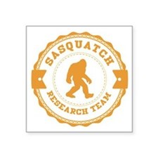 Orange Sasquatch Research Team Sticker