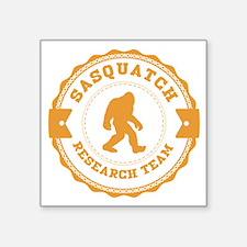 Orange Sasquatch Research Team Sticker