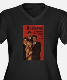 The Aristocrats Women's Plus Size V-Neck Dark T-Sh