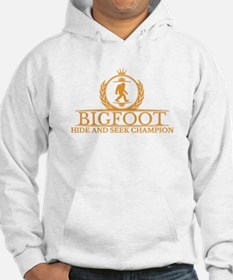 Orange Bigfoot Hide And Seek Champion Hoodie