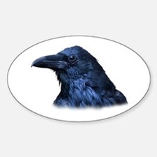 Portrait of a Raven Decal