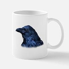 Portrait of a Raven Mugs