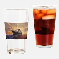 Cool Titanic Drinking Glass