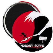Nobody Surfs Like a Jersey Girl Magnet