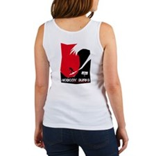Nobody Surfs Like a Jersey Girl Women's Tank Top
