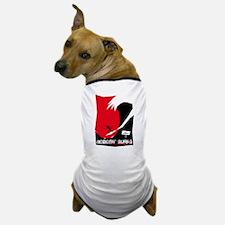 Nobody Surfs Like a Jersey Girl Dog T-Shirt