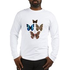 16x20butterflies+moths Long Sleeve T-Shirt