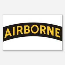 Funny Army airborne ranger Decal