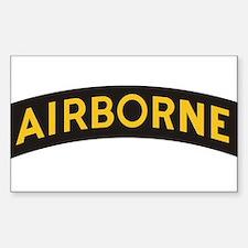 Unique Airborne Sticker (Rectangle)