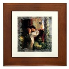 Romeo and Juliet Framed Tile