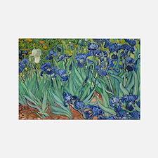 Irises by Vincent Van Gogh Magnets