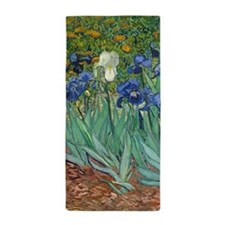 Irises by Vincent Van Gogh Beach Towel