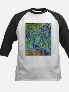 Irises by Vincent Van Gogh Baseball Jersey