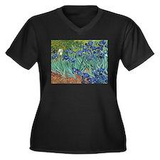 Irises by Vincent Van Gogh Plus Size T-Shirt