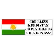 (bumper), Kick Isis Ass Bumper Car Sticker