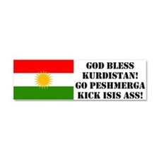 Car Magnet 10 X 3, Kick Isis Ass