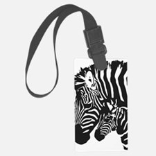 Zebra Power Large Luggage Tag