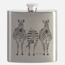 Zebra Power Flask