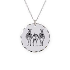 Zebra Power Necklace