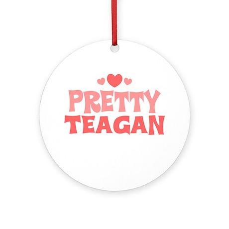 Teagan Ornament (Round)