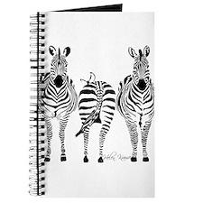 Cute Zebra Journal