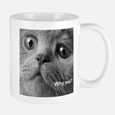 Why me cat. Mugs