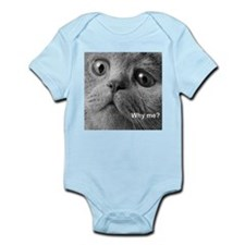 Why me cat. Body Suit