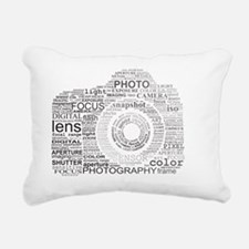Photographer Rectangular Canvas Pillow