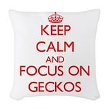 Gecko Woven Pillows