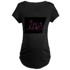 Love Valentine Maternity T-Shirt
