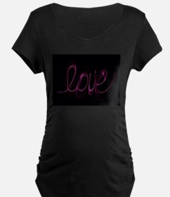 Love Valentine Maternity T-Shirt