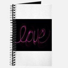 Cute Peace love curl Journal