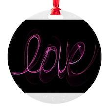 Cute Christmas letter a alphabet womens Ornament