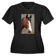 Wonderful Horse Animal Plus Size T-Shirt