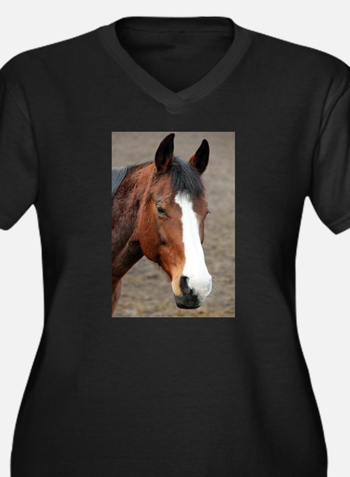 Wonderful Horse Animal Plus Size T-Shirt