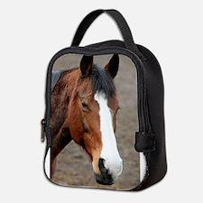 Cute Horse power Neoprene Lunch Bag