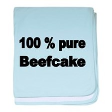 100% pure Beefcake baby blanket