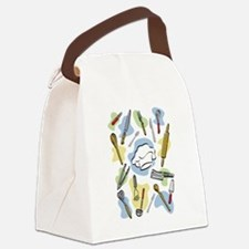 Cute Meat cleavers Canvas Lunch Bag