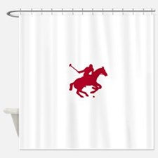 POLO HORSE Shower Curtain