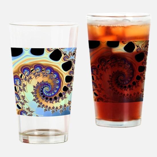 Tsunami Drinking Glass
