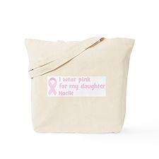 Daughter Noelle (wear pink) Tote Bag