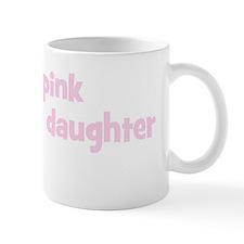 Daughter Noelle (wear pink) Mug