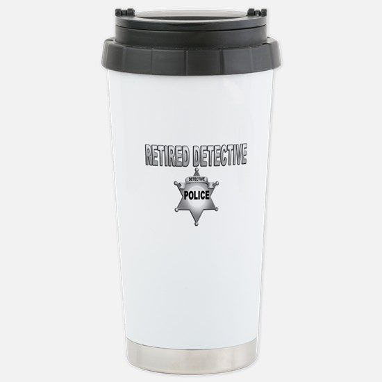 RETIRED DETECTIVE Travel Mug