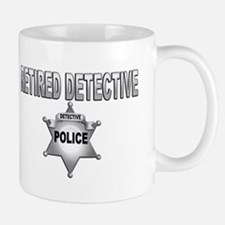 RETIRED DETECTIVE Mugs