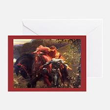 La Belle Dame Sans Blank Greeting Cards (10 Pk)